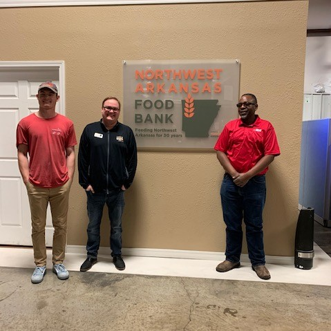 B2 Moving and NWA Food Bank Join Forces